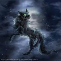 The mark of wolf by Nagi-Wolf