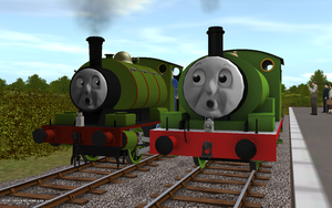 Railway Series meets Television Series: Percy by Sergeant-Sunflower