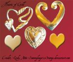 Hearts of Gold by Sammykaye1sStamps