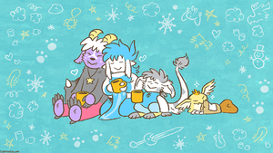 January 2016 Patreon Wallpaper Preview by raizy