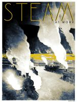 Steam At Work by stefanparis
