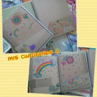 Vuelta a clases 2013! -Mis cuadernos- by SuperRainbowGirl