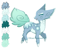 Leaflet Auction: CLOSED by Kuro-Creations