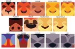 Minimalist Lion King Icons by Samoht-Lion