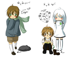 shota Edgar + Wall-E by maeoneechan