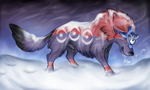 The Frozen North -WolvenFlames by FantaWolfArt