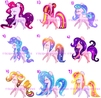 Tiny Ponies Batch 3 (NEW PRICE) by KingPhantasya