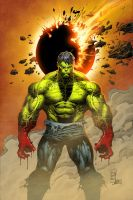 Hulk Asunder by JamesDenton