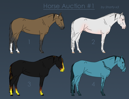 Horse Auction No.1 by yokuns