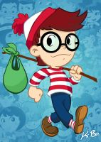 Waldo/Wally by K-Bo. by kevinbolk