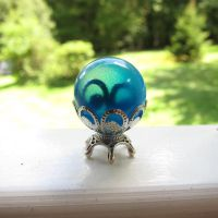 Miniature Blue Crystal Ball by MiniCarly