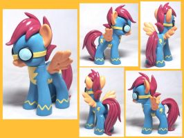Scootaloo Wonderbolt Custom Toy by CadmiumCrab