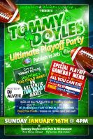 Playoff Party Flyer by AnotherBcreation