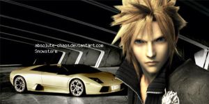 Cloud and Lambo by absolute-chaos