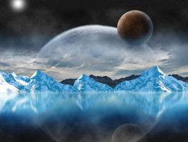 Space scenery by Theresa42J