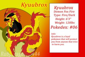 Kyuubrox 3rd evolution by Rubydragoon4444