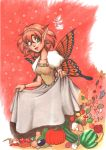 Butterflygirl of autumn by Illien-chan