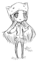 Chibi Sketch by Smyal