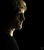 Peeta Mellark by Somelarder
