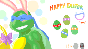 TMNT: Easter by Fuwa2-Kyara