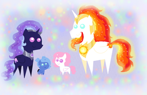 The Royal Equestria Family by PurfectPrincessGirl