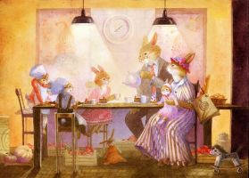 cafe by Xenys