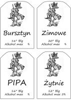 Beer labels by Molot