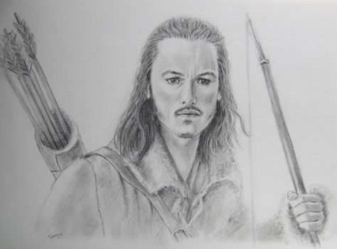 Bard the Bowman sm by Powerfulwoodelf