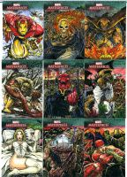 Marvel Mastepiece 3 Lot 1 by DKuang