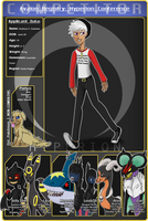 HyperionConference Character App: Andreus Coleman by QueenOfAllDragons