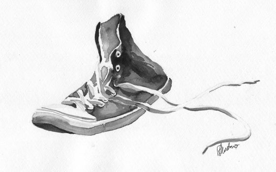 Converse in Ink by Montaneous
