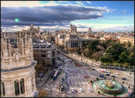 Madrid view by SebKaiser