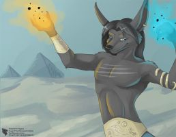 Anthro Male Calender 2014 - February by Ulario