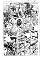 FANTASTIC FORCE 4 pag.12 pencils by PinoRinaldi
