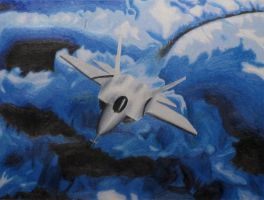 F-22 by r0ketman