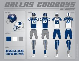 dallas cowboy rebrand by Satansgoalie