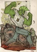 Savage Dragon by DenisM79