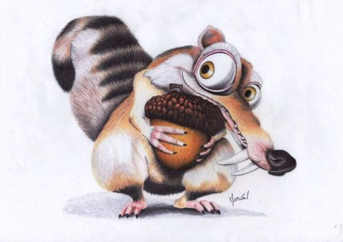 Scrat by lagomme