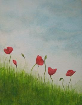 Poppies in the breeze by kult