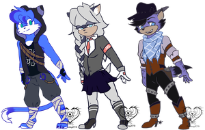 #2 redesigns by Sanddy273
