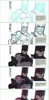Process: TDKR by thousandfoldart