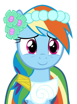 Aww!-Rainbow Dash vector 2 by CommyPink