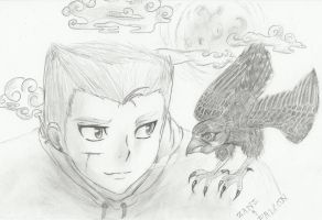 Zane And Falcon by HollowRain1