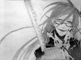 Black Butler - Grell Sutcliff by Truthun96