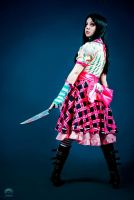 Alice Madness Returns Cosplay : Misstitched by Thecrystalshoe