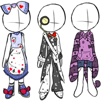 Outfit Adoptables 1 .:Series- Wonderland:. by Neomen12