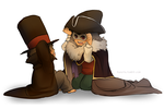 :LAYTON SPOILERS: dress up by hyoutas