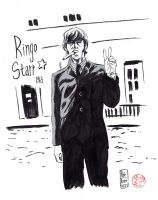 Ringo Starr 1965 by kylehaase