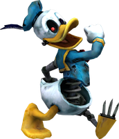 Animatronic Donald Pose by Luigimariogmod