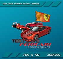 Test Drive Ferrari Racing Legends Dock Icon by Dohc-WP